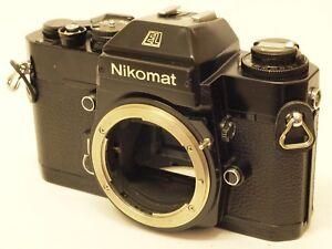 Nikon-Nikomat-EL-35mm-SLR-Camera-Body-Black-Finish-Stock-No-c1317
