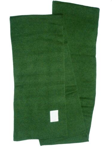 Reebok se U badg scarf sciarpa invernale sciarpa cerchio a maglia Uomo Donna verde oliva