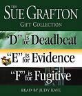 Sue Grafton Def Gift Collection:  D  Is for Deadbeat,  E  Is for Evidence,  F  Is for Fugitive by Sue Grafton (CD-Audio)