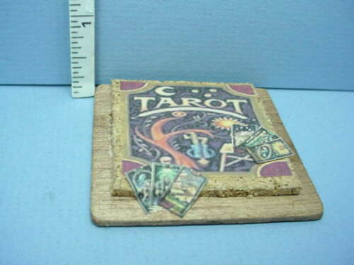 Dollhouse Miniature Tarot Card Display Handcrafted 1//12th Scale Taylor Jade