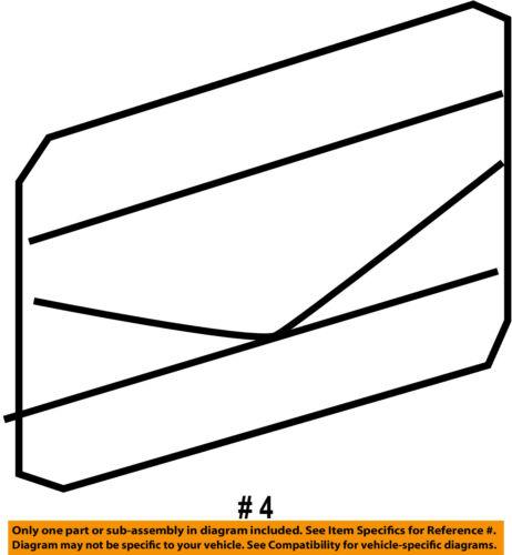 MERCEDES OEM 15-18 GLA250 Exterior-Rocker Molding Upper Clip 0019914971
