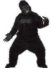 Adult Black Gorilla Goin' Ape King Kong Sasquatch Full Suit Costume Standard