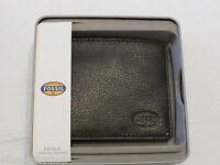 Ml3340200 Clark Bifold Brown Men's Wallet Fossil Credit Card Id Rare Billfold