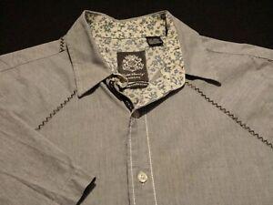 English Laundry Short-Sleeve Geometric Shirt