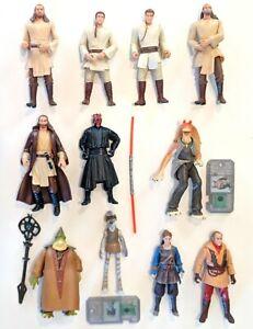 CHOOSE-1-1999-Star-Wars-Episode-I-Phantom-Menace-Action-Figures-Hasbro