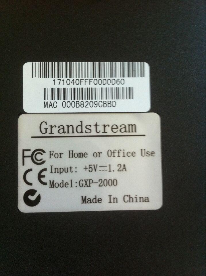 IP telefon, Grandstream , GXP-2000