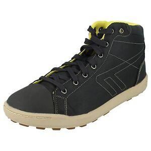 Mens Hitec Hi-top Style Boots 'nevada Mid Clear-Cut-Textur