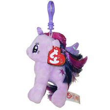 TY Beanie Baby - PRINCESS TWILIGHT w/Glitter Hairs (My Little Pony) (Key Clip)