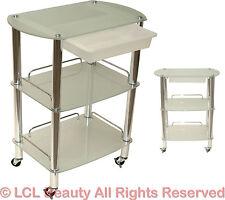 All Purpose Glass Cart Trolley Doctor Dentist Medical Trolly Spa Salon Equipment