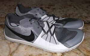 the latest dfe44 956cc Image is loading NIKE-Zoom-Forever-Waffle-5-XC-Grey-Spikeless-