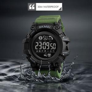 SKMEI Wasserdichte Digitaluhr Teenager Kalorien Herzfrequenz Smartwatch 1643 83