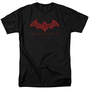 Batman-Red-Bat-T-Shirt-Licensed-Comic-Book-Tee-Black
