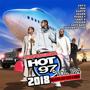 Hot-97-vol-124-Blazin-Hip-Hop-amp-RNB-Official-CD