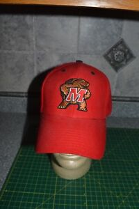 NCAA-Maryland-Terrapins-Red-Black-NCAA-Hat-Terps