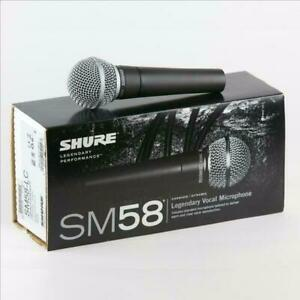 New Shure SM58 Dynamic Vocal Microphone with Mic clip, storage bag and user guide Canada Preview