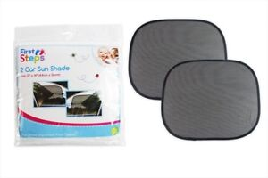 Car Sun Shade Pack of 2 Protects Children Blocks UV Rays First Steps Toddler Kid