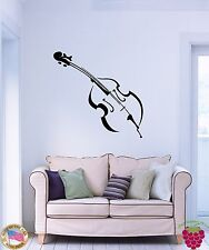 Wall Stickers Vinyl Decal Violin Musical Instrument Music z1060
