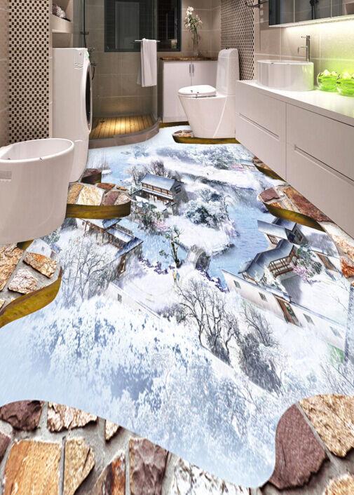 3D Klassische Schnee 1343 Fototapeten Wandbild Fototapete BildTapete FamilieDE