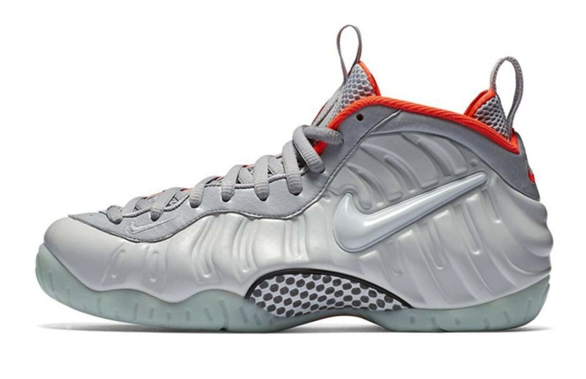 Nike AIR PENNY FOAMPOSITE PRO 1 Pure Platinum 17 Brand new