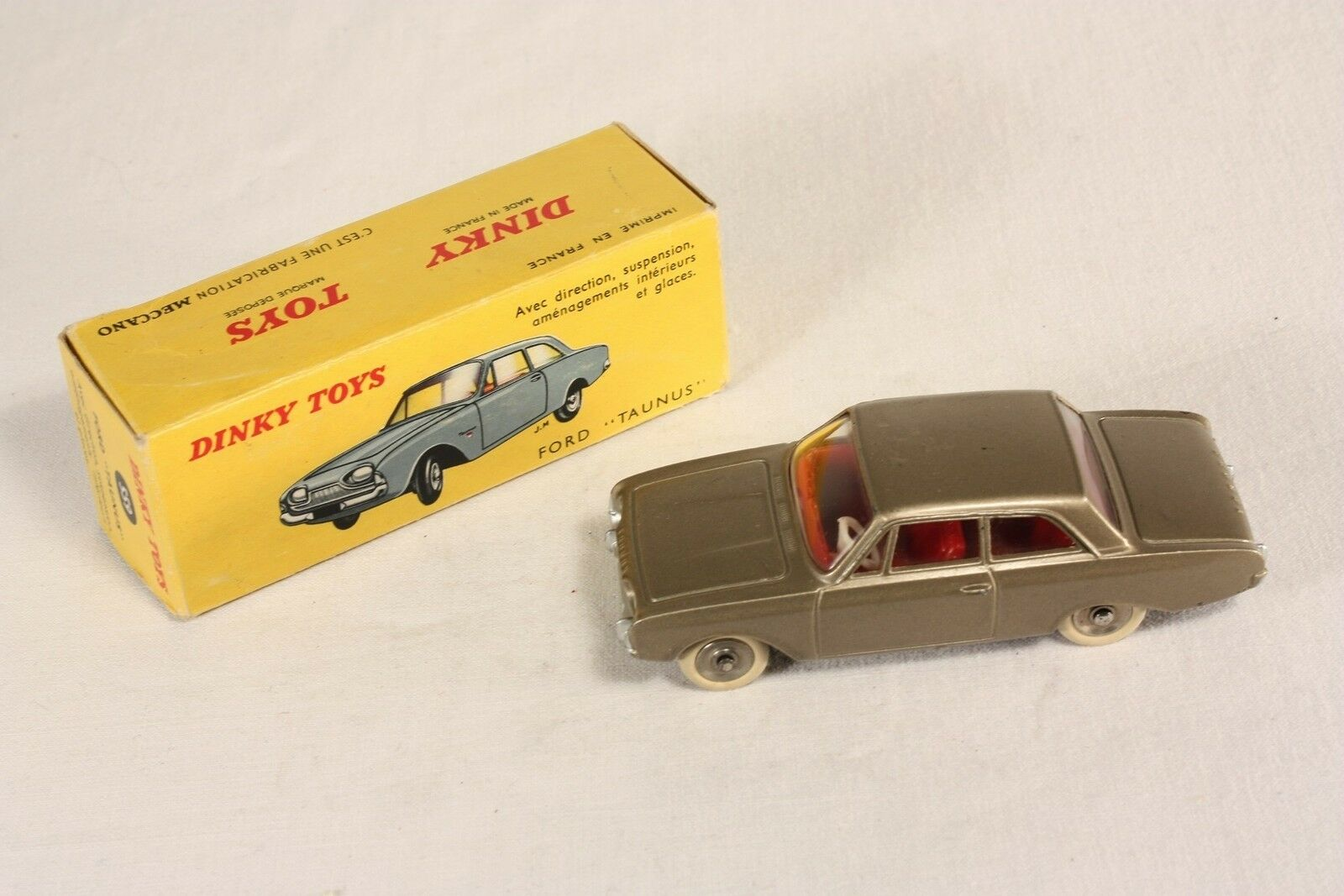 DINKY TOYS 559, Ford Taunus, Mint in Box #ab552