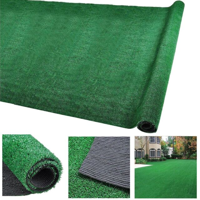 33x3ft Artificial Grass Mat Synthetic Landscape Turf Fake Lawn Back Yard For Dog For Sale Online Ebay