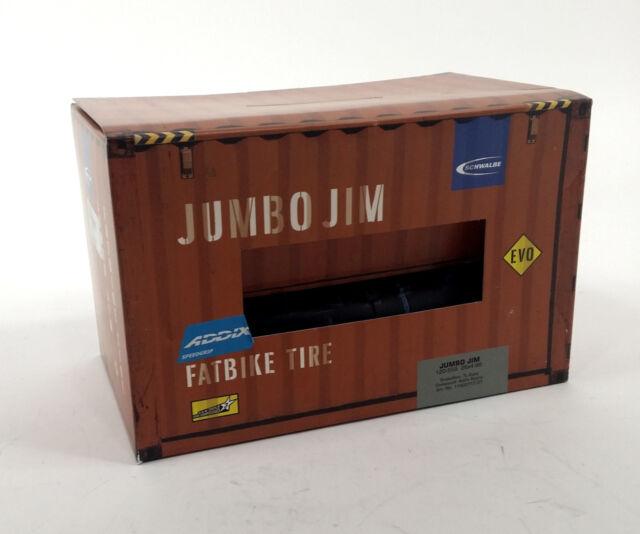Schwalbe Jumbo Jim SnakeSkin Tubeless Easy Tire 26 x 4.8 EVO Addix SpeedGrip