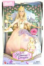 Barbie Princess and The Pauper Anneliese and Cat Erika Singing Doll Pink Dress