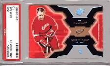 Gordie Howe 2006 SPX Mr Hockey #34 PSA 10 POP 2 RED WINGS