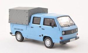 VW-T3a-Double-Cabine-Pick-Up-034-Blue-034-Premium-Classixxs-1-43-11526