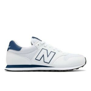 New-Balance-500-Men-039-s-Fashion-Sneakers-Casual-Shoes-White-D-NWT-GM500WMT