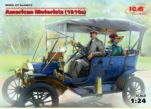 ICM 1:24 Scale Model Kit-American Motorists années 1910 2 figues ICM24013
