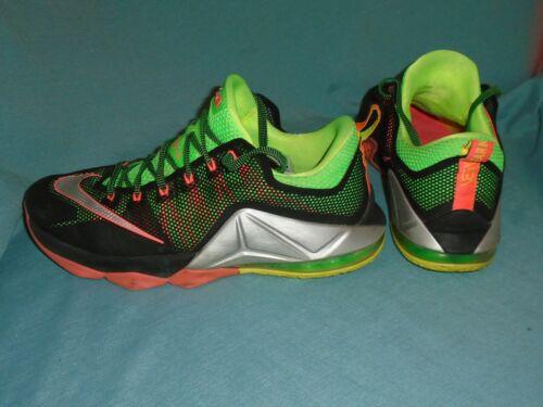 Nike Lebron XII 12 Low Remix Hot Lava Mens Shoes 7