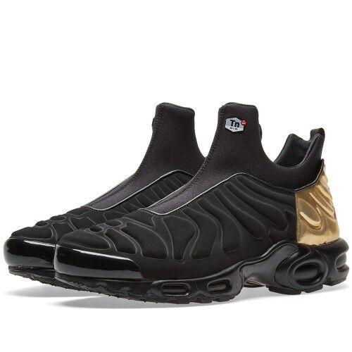 Nike W Max Slip Air SP Nero Plus oro Metallizzato Scarpe Da Ginnastica Unisex TN   finitura    Uomini/Donna Scarpa