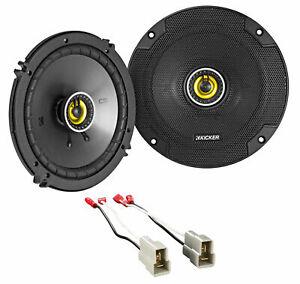 """Polk Audio Front+Rear Door 6.5/"""" Speaker Replacement For 1993-2007 Subaru Impreza"""