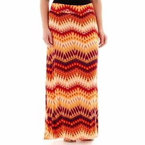 Image Is Loading A N Lourdes Maxi Skirt Plus Size 3X New