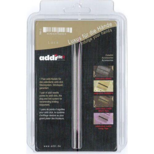 Addi Click Lace Long austauschbare Spitzen 12,5cm Stecksystem  alle Größen 766-7