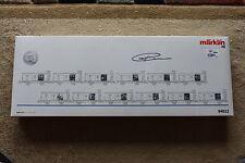 Marklin HO 94022 Wagen Set Kunstkalender 1998 NEW In BOX & Signed