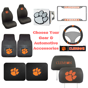 NCAA-Clemson-Tigers-Choose-Your-Gear-Automotive-Accessories-Official-Licensed