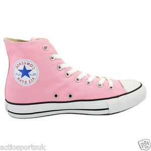 Image is loading Converse-Chuck-Taylor-All-Star-Pink-Unisex-Hi- b23eb5046