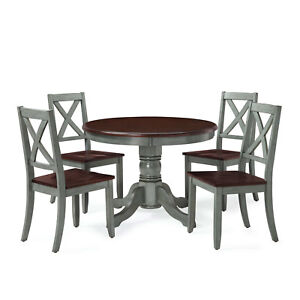 Better Homes And Gardens Cambridge Place Dining Table Blue 764053499739 Ebay