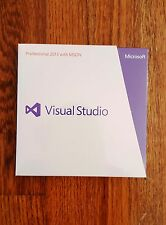 Visual Studio Professional 2013 with MSDN, SKU 79D-00326, Sealed Retail Box