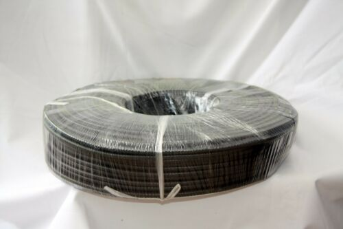 50 meter coil of Small black rubber car edge trim 10mm x 7mm