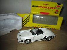 911 porsche speedster 1/38 display w/ box  vintage maisto sportscar