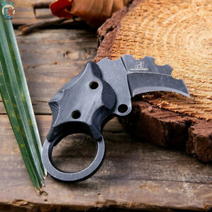 DAOMACHEN Mini Karambit Claw Knife Pocket Camping Outdoor Survival Tactical Tool