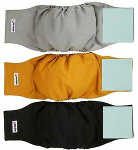 Washable-Male-Dog-Belly-Wrap-Diapers-Pack-of-3-Small