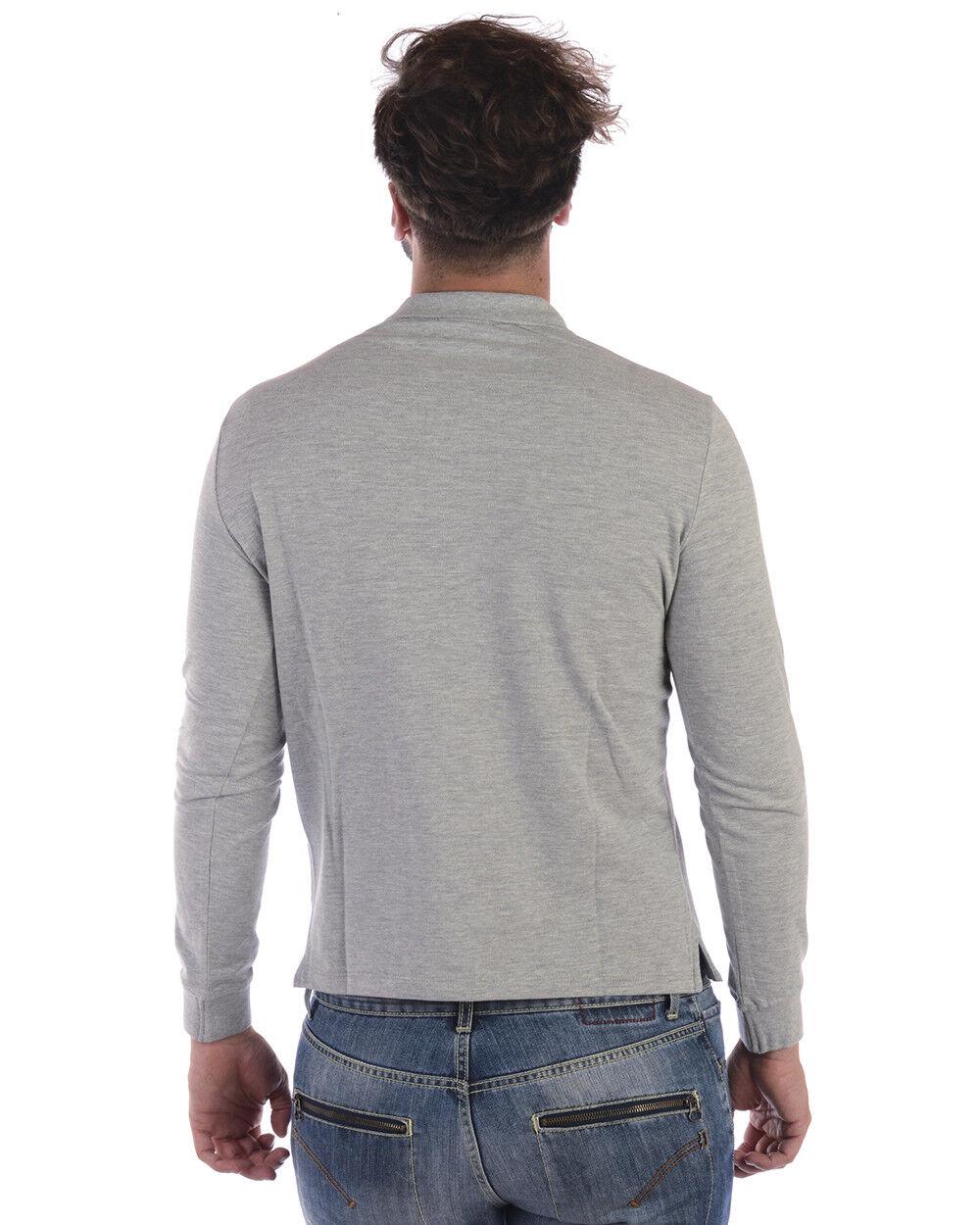 Polo Polo Polo Emporio Armani Shirt Cotone Uomo Grigio 8N1F131J0SZ 616 7d88a8