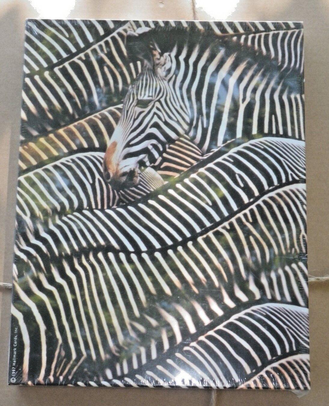 Springbok Yipes  Stripes  Zebra Jigsaw Puzzle 500 pc 18  x 23 1 2  USA Hallmark