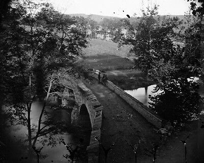 New 8x10 Civil War Photo: Burnside Bridge at Antietam - Sharpsburg, 1862