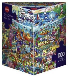 Magic Sea, Berman - 1000 pieces Jigsaw - Triangular Box Puzzle HY29839 Heye