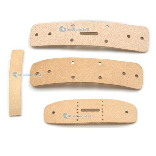 Natural Veg Tanned Leather Shoulder Belt Blanks Connection Buckles Craft DIY